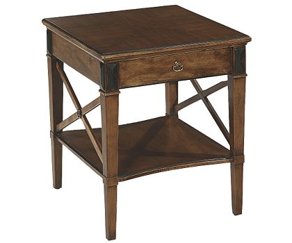 Neoclassical End table by Hickory Chair