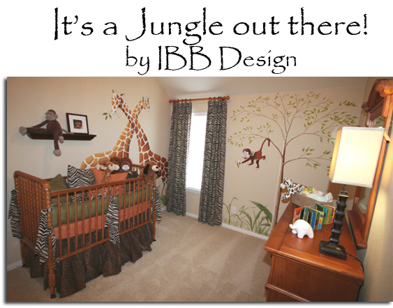 Safari nursery, crib, giraffe, zebra print, gender neutral nursery, baby room, nursery design