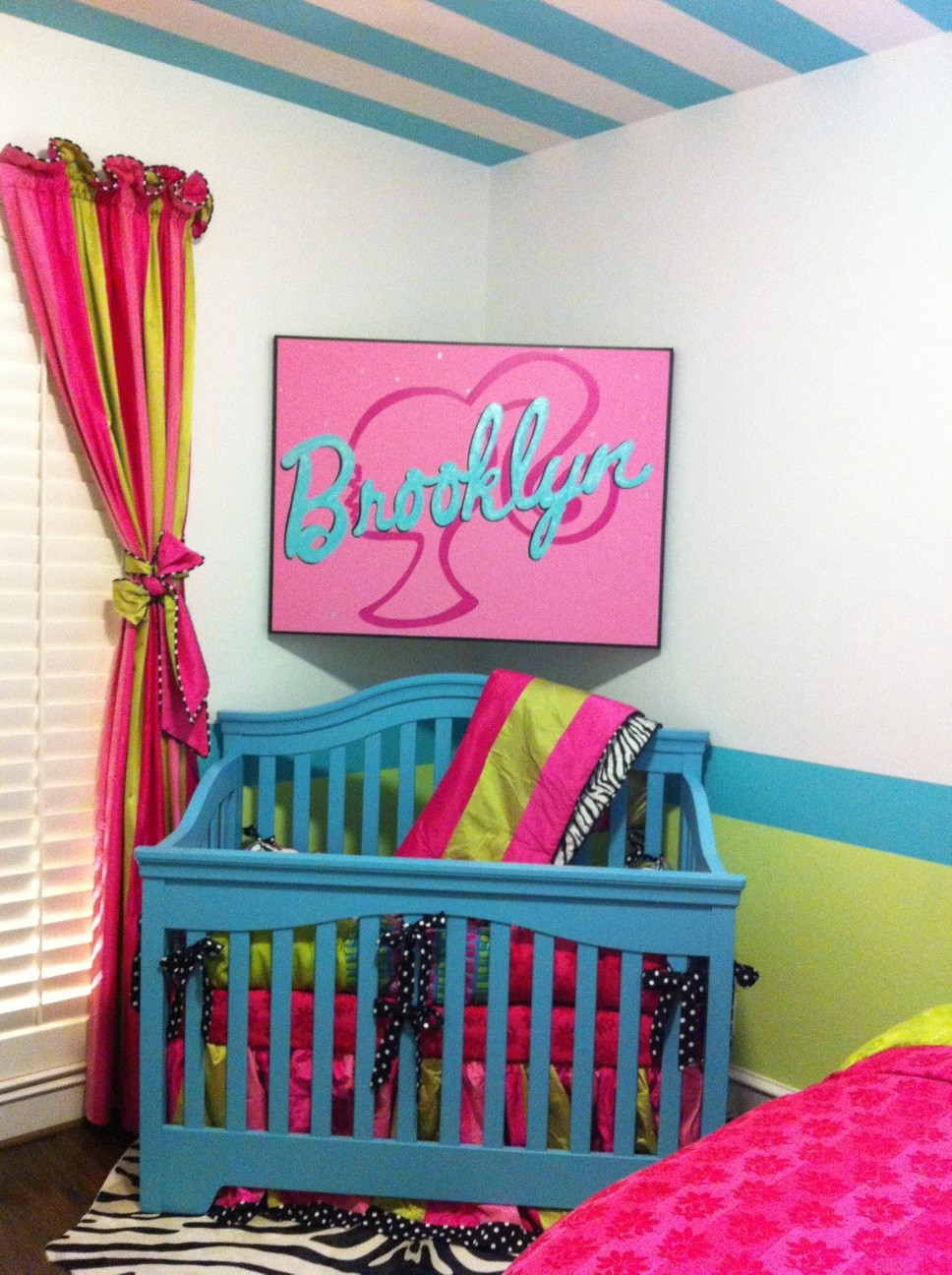 Today S Sneak K Saay Is A Glimpse Into The Nursery Of Our Sweet Baby Brooklyn Who Due To Arrive Any Day Now All Bedding What I