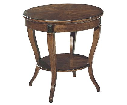 round lamp table by Hickory Chair