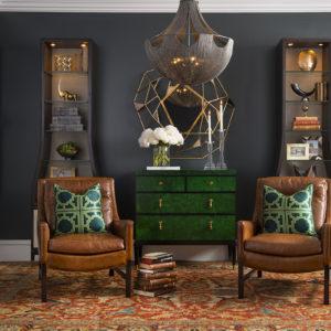 Study Room Design by Lauren Macnak, IBB Designer