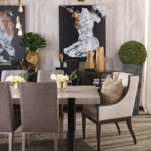 Dining Room Design by Jory Gattis Dickinson, IBB Designer