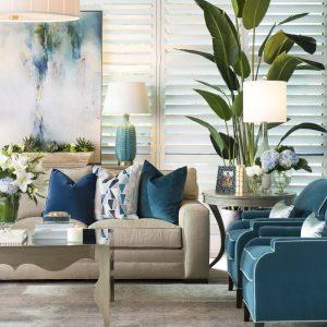 Living Room Design by Pam Hood, IBB Designer