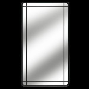 Slater - Industrial Metal Leaner Mirror