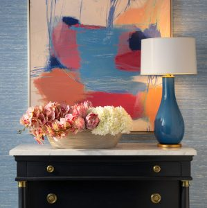 IBB Design Fine Furnishings CIEL Wallcoverings with Ashleigh Floral