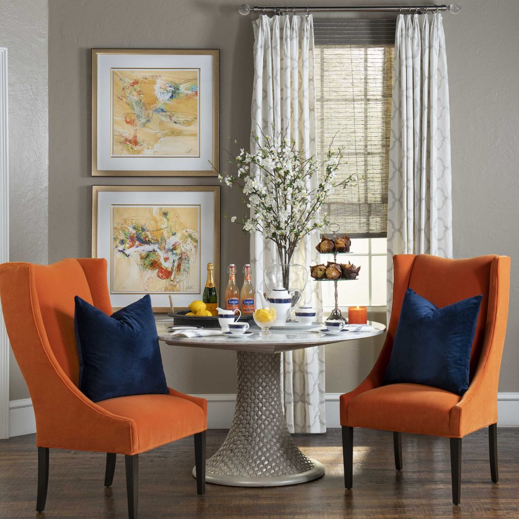 IBB Design Fine Furnishings Featured Vignette Styling by Meghan Sebren