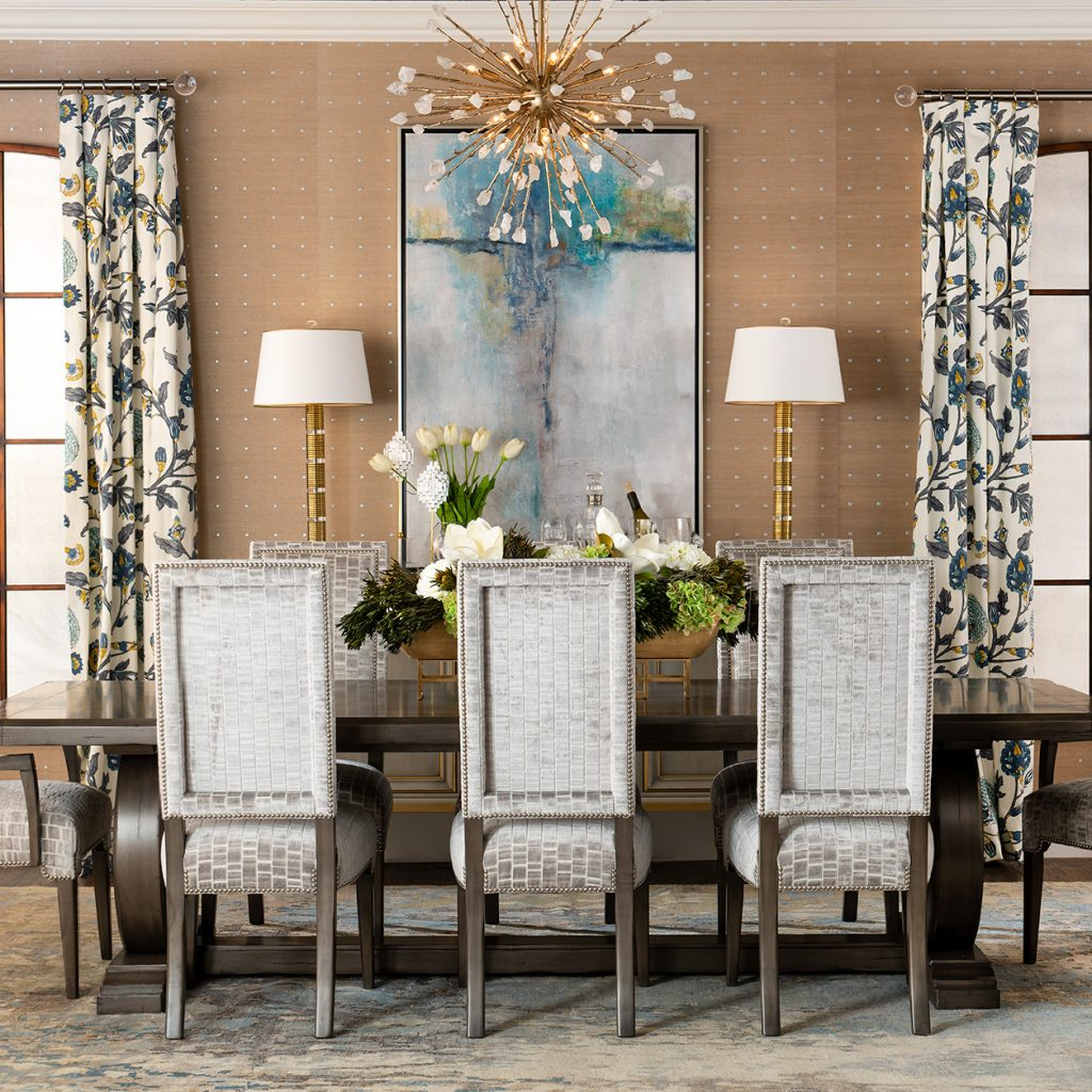Dining Room Design by Pam Hood, IBB Designer