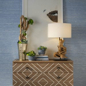 IBB Design Fine Furnishings CIEL Wallcoverings with Leigh and Alex Florals