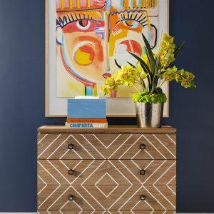 IBB Design Fine Furnishings Featured Vignette Styling by Meghan Sebren