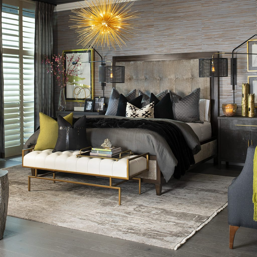 Master Bedroom Design by Jory Gattis Dickinson, IBB Designer