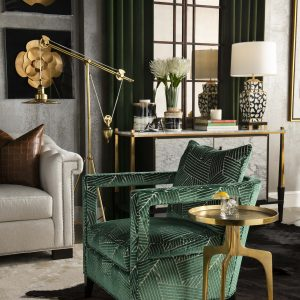 Living Room Design by Lauren Macnak, IBB Designer