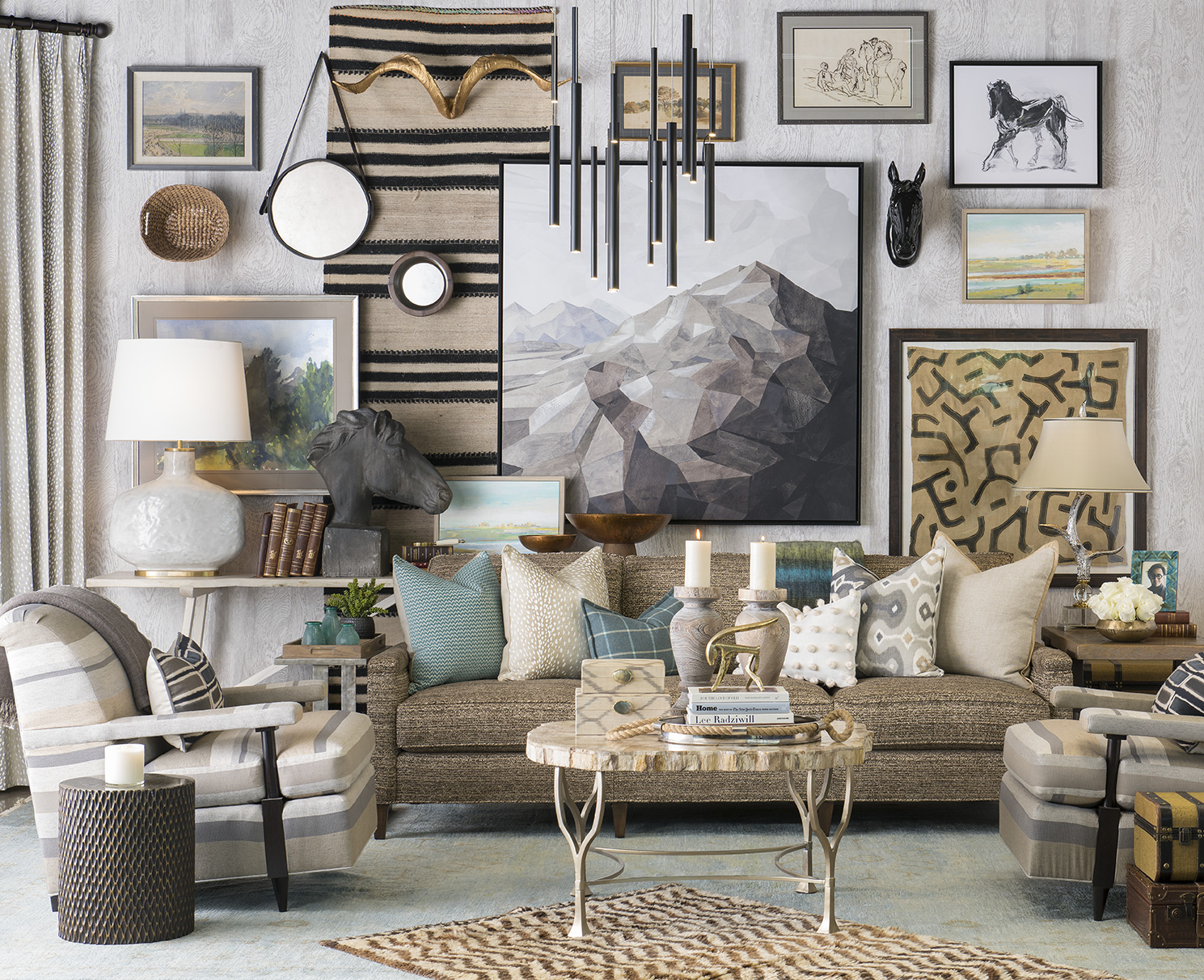 Living Room Design By Michael Reese, IBB Designer