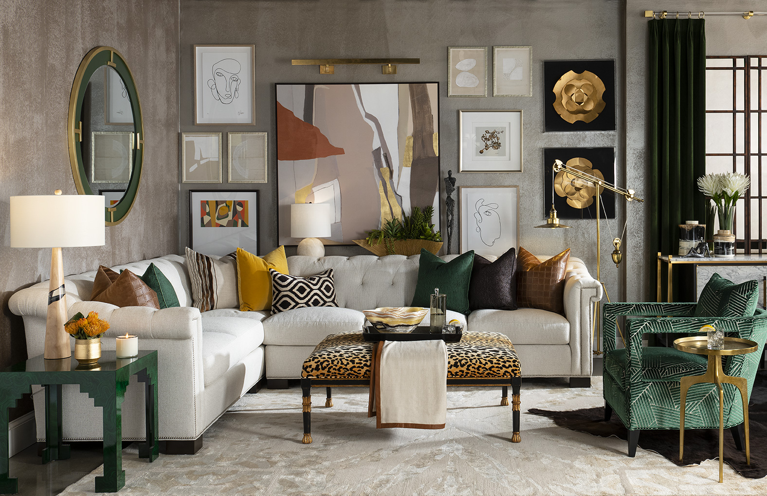Living Room Design By Lauren Macnak, IBB Designer