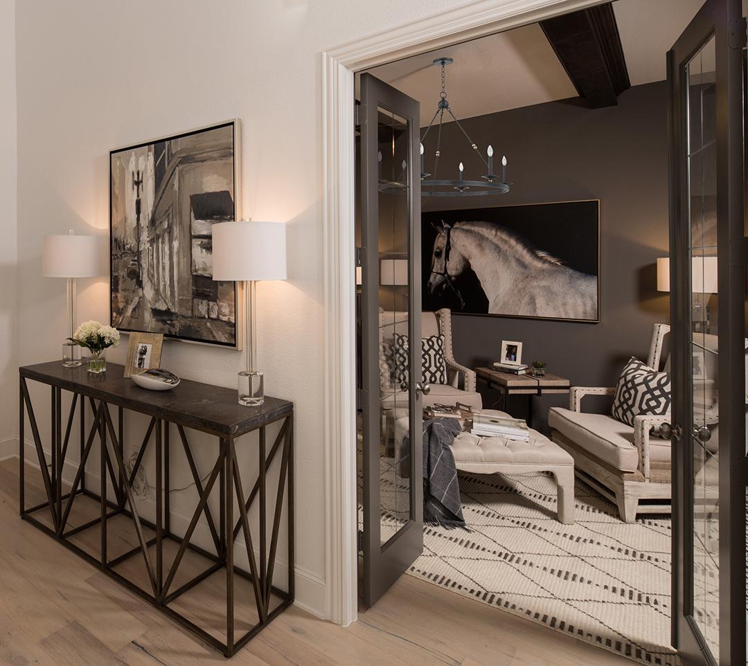 Highland Homes Study at Hollyhock - Designed by IBB Design